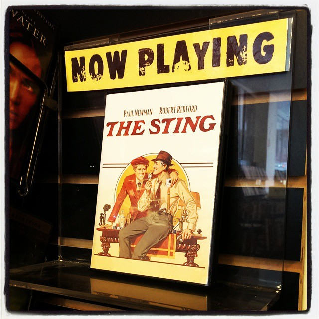Crime used to be so much more charming. #TheSting