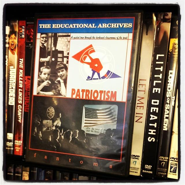 Pledging allegiance has never felt more ... peculiar. #LeeGreenwoodCinema
