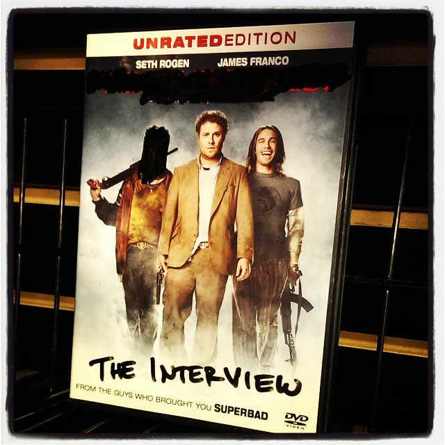We have all the hard-to-find titles. #TheInterview #RealMcCoy